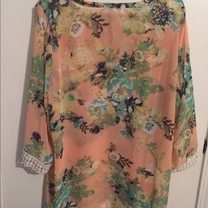 Daniel Rainn Tops - Beautiful Plus Size Floral Top